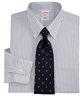 Framed Stripe Dress Shirt